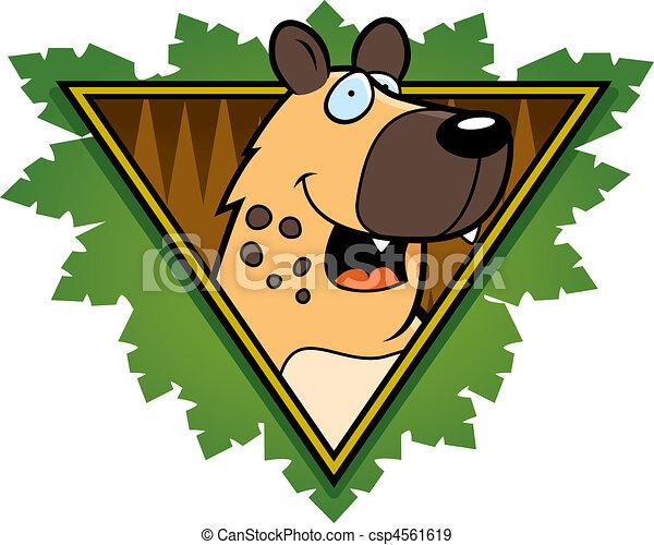Hyena Safari Icon - csp4561619