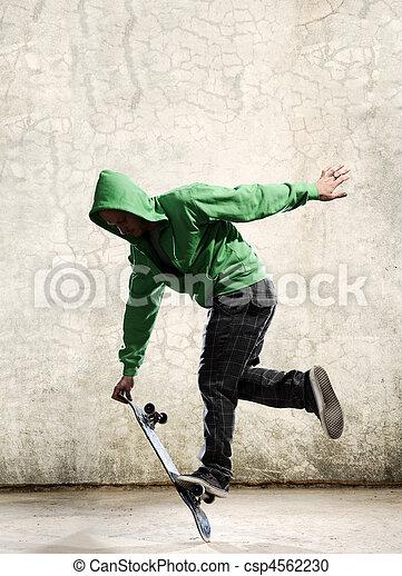 Skateboard skill - csp4562230
