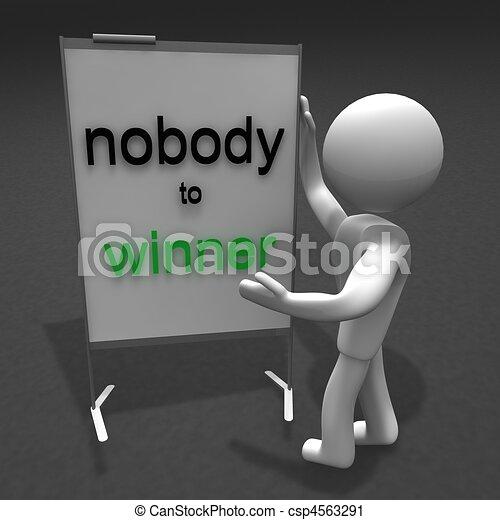 nobody to winner - csp4563291