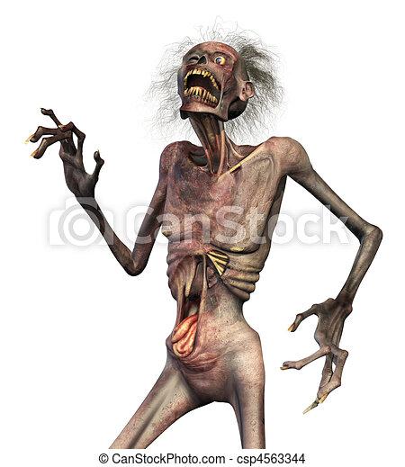Zombie Horror - csp4563344