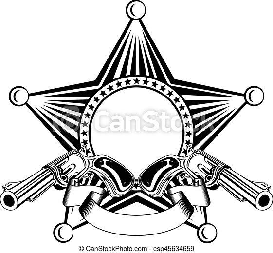 cowboy star var 19 - csp45634659