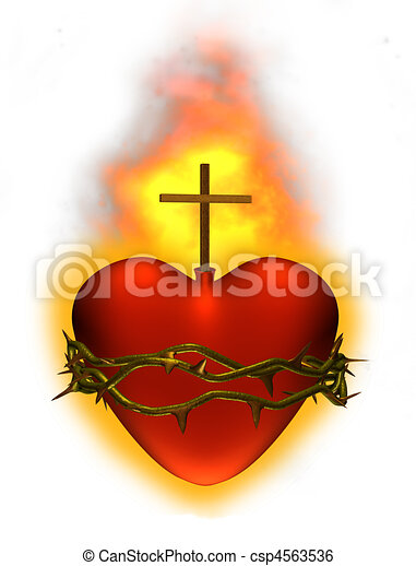 Sacred Heart - csp4563536