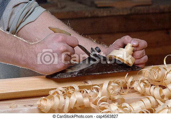 Im genes de ebanister a taller madera carpintero csp4563827 buscar stock de fotograf a - Taller de ebanisteria ...