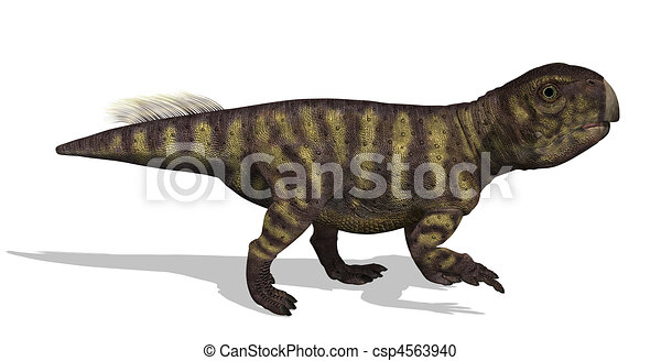Psittacosaurus Dinosaur - csp4563940