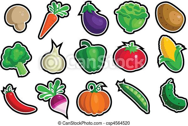 蔬菜, 圖象 - csp4564520
