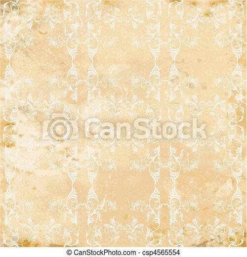 vintage seamless texture - csp4565554