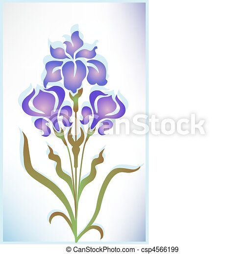 iris - stock illustration, royalty free illustrations, stock clip art ...