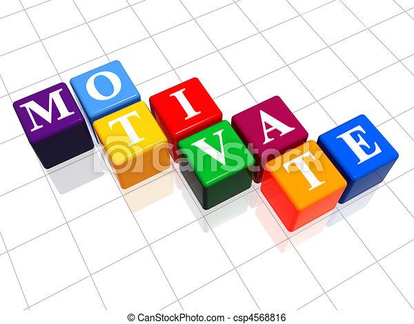motivate in colour - csp4568816