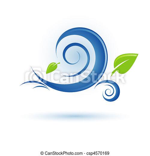 wind icon - csp4570169