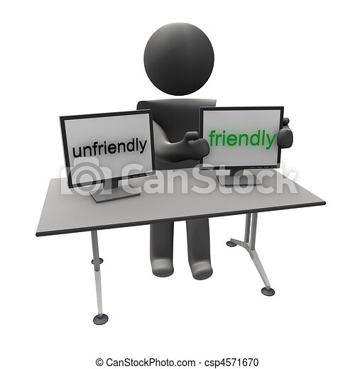 unfriendly to friendly Unfriendly Clipart