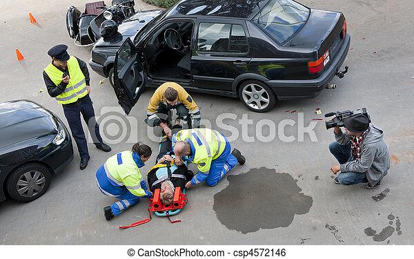 Multidisciplinary rescue team - csp4572146