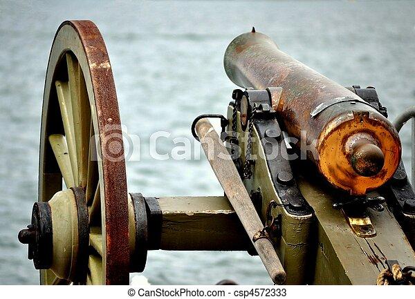 Civil War Cannon - csp4572333