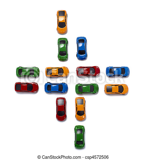 toy cars traffic transportation - csp4572506