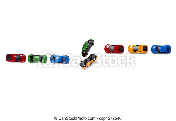toy cars traffic transportation - csp4572546