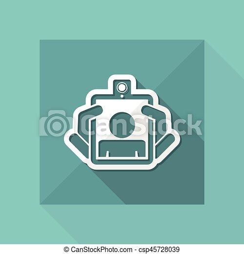 Webcam tablet icon - csp45728039