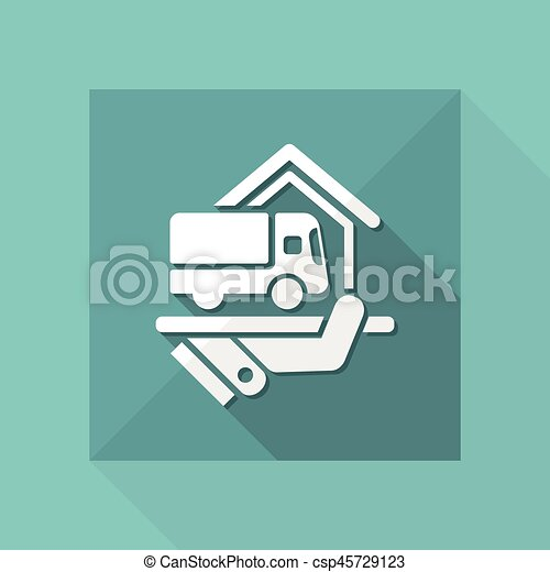 Home delivery service - csp45729123