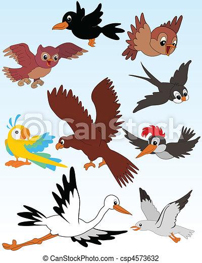 Birds - csp4573632
