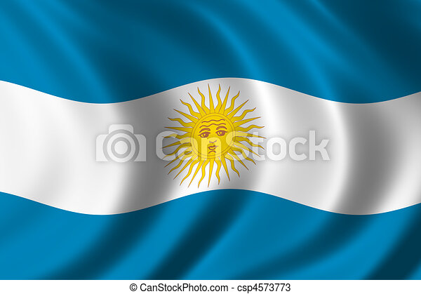 Flag of Argentina - csp4573773