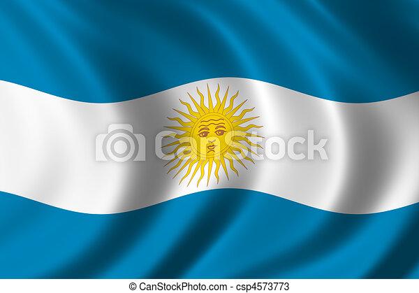 Flag of Argentina - csp4573773