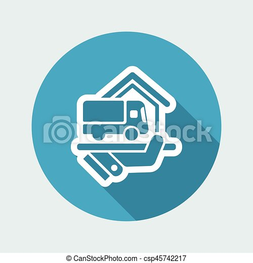 Home delivery service - csp45742217