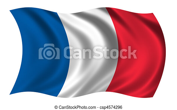 of French flag waving in the wind csp4574296 - Search Clip Art ...