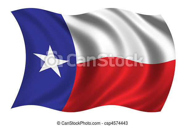 Flag of Texas  - csp4574443
