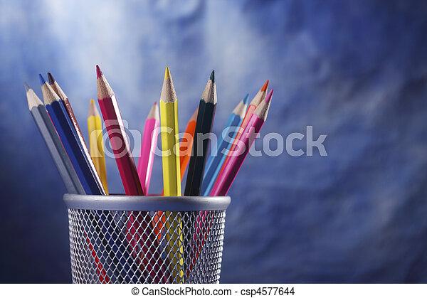 顏色, 鉛筆 - csp4577644