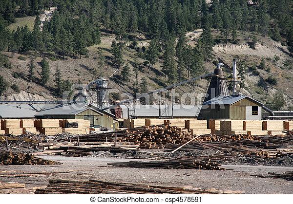 Lumber mill - csp4578591