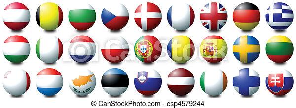 Euro Balls - csp4579244