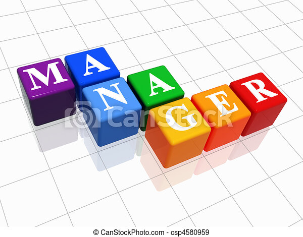 manager in colour - csp4580959