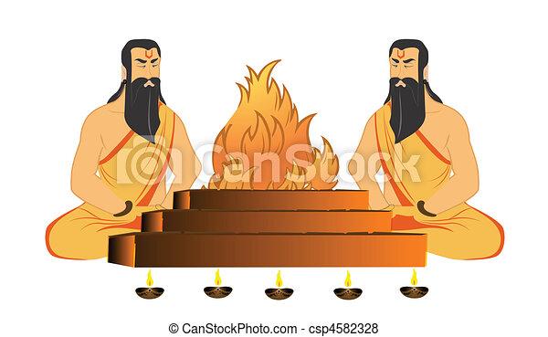 saints rituals - csp4582328