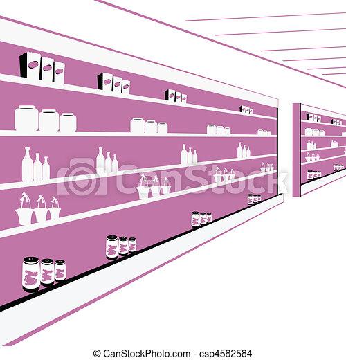 departmental store - csp4582584