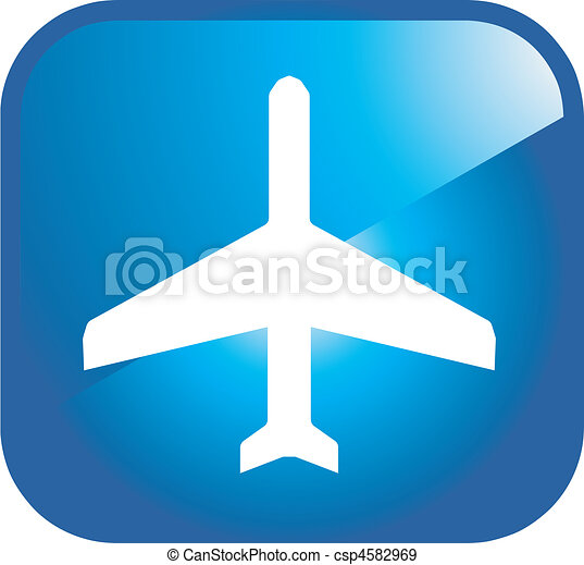 airport icon - csp4582969