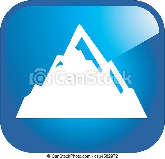 mountain icon - csp4582972