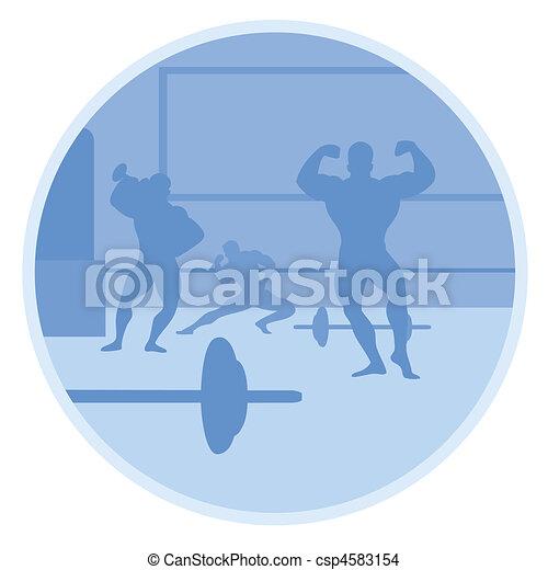 gymnasium - csp4583154