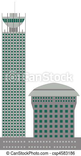 commercial building - csp4583186