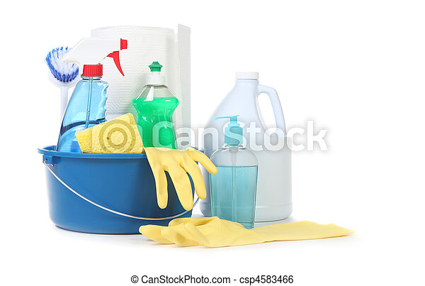 Many Useful Household Daily Cleaning Products - csp4583466