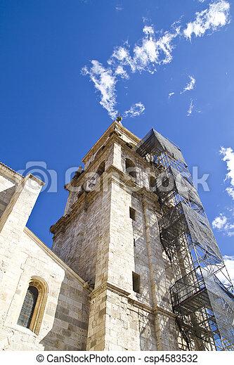 Catedral in rehabilitation - csp4583532