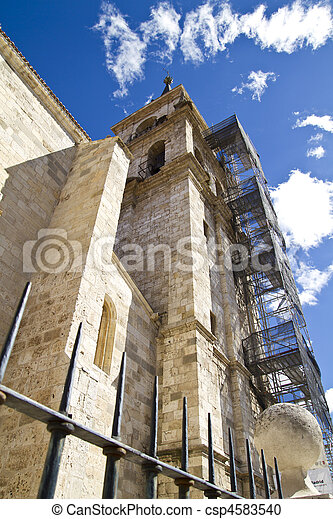 Catedral in rehabilitation - csp4583540