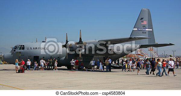 Military Aircraft C-17 Military Aircraft C-17  - csp4583804