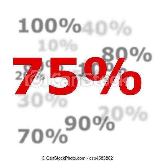 Percent - stock image, images, royalty free photo, stock photos, stock