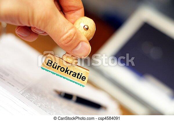 bureaucracy - csp4584091