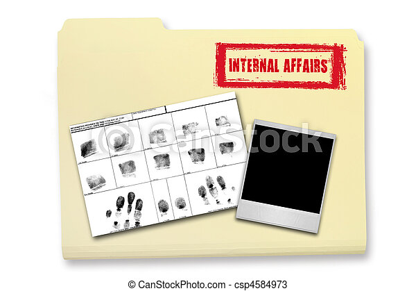 Internal Affairs Investigation Elements - csp4584973