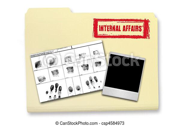 Internal Affairs Investigation Elements - csp4584973