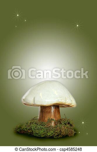 Fairy Fantasy Mushroom - csp4585248