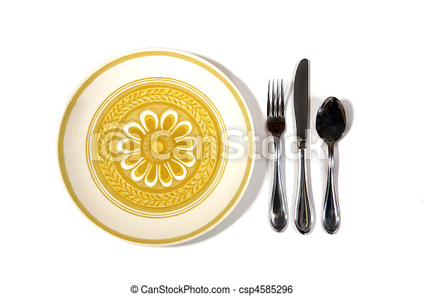 Meal Place Setting - csp4585296