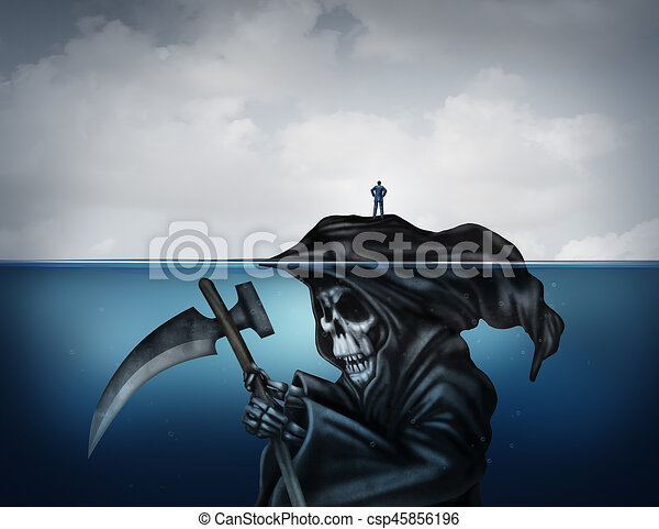 Death Is Looming - csp45856196
