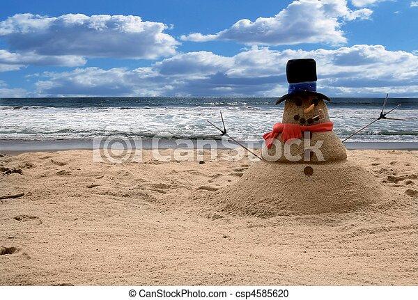 foto,  manipulation, sandmann, fantasie, hintergrund,  digital - csp4585620
