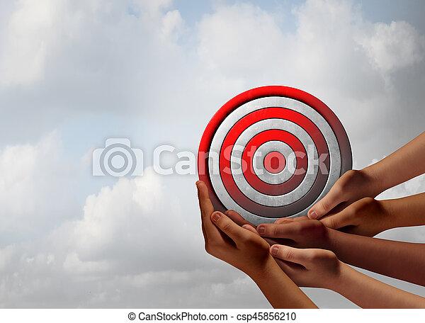Target Audience - csp45856210