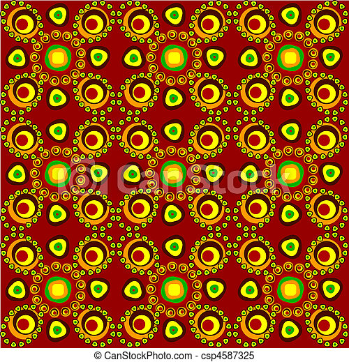 seamless tracery - csp4587325